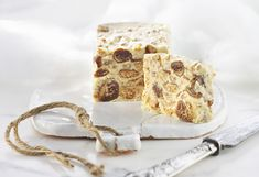 With boozy figs, crushed ginger biscuits and buttery pecans, this treat has it all. Once you've tried this no-bake winner, try swapping figs for prunes. White Chocolate Recipes, Chocolate Wine, Pecan Desserts, Dessert Recipes, Christmas Cooking, Christmas Recipes, Sweet Recipes, Food To Make, Food Photography