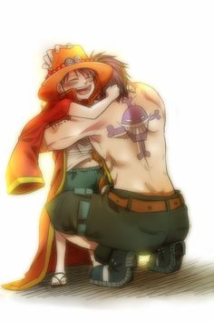 Ace & Luffy (One Piece)