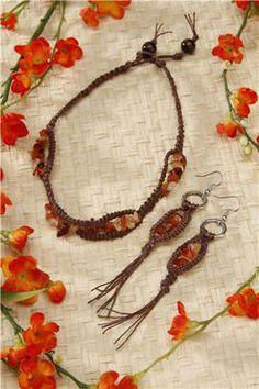 hemp jewelry idea