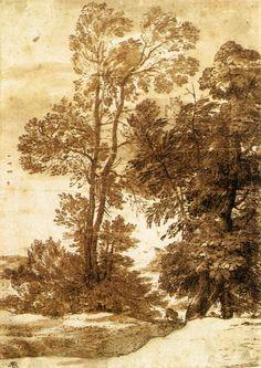 Lorrain. Arbres (av. 1644)