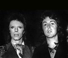 "David and Paul McCartney - Recién salidas del salón ""Because I worth it"""