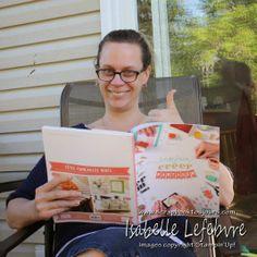 Scrapbook toujours - scrapbooking - Stampin'Up! : Préparation des catalogues Stampin'Up! 2014-2015 Stampin Up, Catalogue, Scrapbooking, Books, Image, Libros, Book, Stamping Up, Scrapbooks