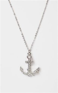 Deb Shops short necklace with anchor charm Key Jewelry, Jewelery, Anchor Necklace, Pendant Necklace, Other Accessories, Jewelry Accessories, Deb Shops, Anchor Charm, Short Necklace