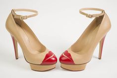 Charlotte Olympia Kiss Me Delores pumps, 2012 From the private collection of designer Yliana Yepez.