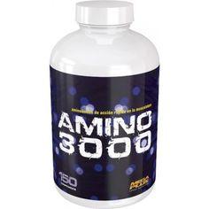 AMINO 3000 150 Comprimidos 25,16 €  Comprimidos de aminoácidos de acción rápida en la musculatura provenientes de lactoalbumina obtenida por ultrafiltración. APORTA: CRECIMIENTO MUSCULAR RECUPERACIÓN MUSCULAR REDUCE AL TERMINAR EL EJERCICIO LA SENSACIÓN DE FATIGA  Su alta digestibilidad junto con su alto valor biológico y su bajo contenido en grasas hacen de este preparado, el concentrado proteico ideal para tomar a cualquier hora del día, en especial después del entrenamiento. SIN…