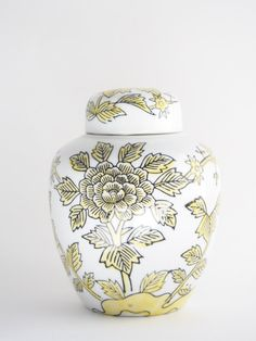 Vintage Chinoiserie Ginger Jar Andrea by by BelleBloomVintage, $18.95