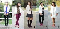 Tanvii.com: Shopping Ban Link Up + Five Ways to Wear a White Blazer