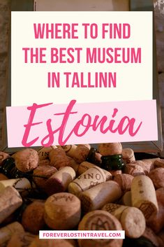 Tallinn Estonia has a really unique museum. Set in the cellar of an old winery, the Museum of Estonian Drinks Culture tells the story of a family who created some of the best wines and juices in Estonia, and how they lost it all. Sample local Estonian wines and relive the 20th Century history that surrounds it #tallinn #estonia #foodanddrink #winetravel #foreverlostintravel #travel #visitestonia #uniquemuseums Continents And Countries, Estonia Travel, Cultural Experience, Worldwide Travel, Travel Activities, Fine Wine, Cellar, Yummy Drinks