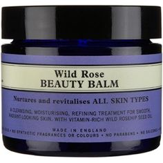 neils yard wild rose beauty balm. One of my favourite products. So versatile. Ideal for cleansing and moisturising. Dab some on dry ankles, knees and elbows! Cannot rate this highly enough.