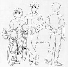 Flooby Nooby: The Art of Studio Ghibli - Part 7 Hayao Miyazaki, Studio Ghibli Art, Studio Ghibli Movies, Yoshifumi Kondo, Personajes Studio Ghibli, Studio Ghibli Characters, Japon Tokyo, The Cat Returns, Animation