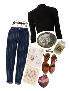 """mom"" by imagicality ❤ liked on Polyvore featuring Topshop, Again and Retrò"