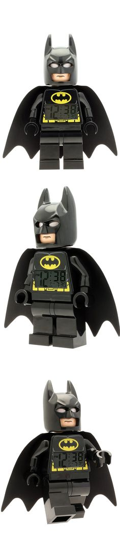 Help save Gotham City with this new iconic LEGO DC Universe Super Heroes Batman clock! The perfect addition to every LEGO Lego Dc, Batman And Superman, Gotham City, Dc Universe, Clock, Superhero, Toys, Watch, Activity Toys