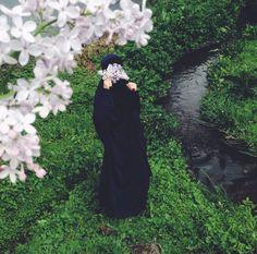 Beauty in black # peçe nikab nikap kapalı çarşaf hicab hijab tesettür ddi