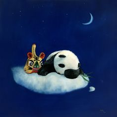 Animal Paintings, Tired, Hearts, Snoopy, Chinese, Artists, Warm, Animals, Fictional Characters