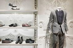 Alexander McQueen, London shop.
