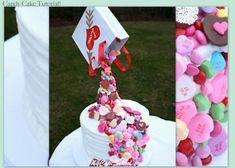 Amazing Candy Pour Cake! - A gravity defying cake tutorial by MyCakeSchool.com.
