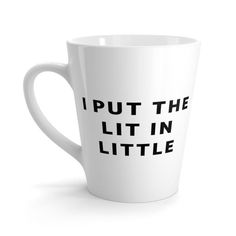 """You put the Lit in Little"" instead...Big/Little gift idea"