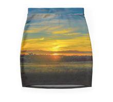 Sunset on the Calder Pencil Skirt