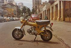 Honda Setentinha. Alameda Cabral, anos 1970. Curitiba.