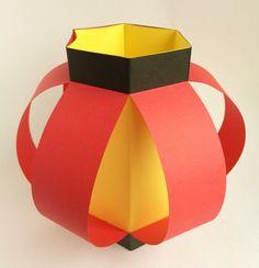 【新】画用紙で作る「手作りちょうちん」の作り方|粘土工房 Kokko Garden