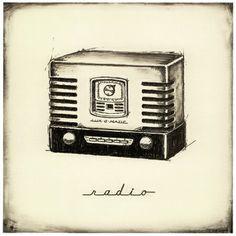 Ajans Saati! #love#radio#vintage