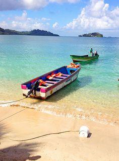 Gorgoeus beach of Isla Grande in Panama -- #WishIWasHere