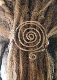 spiral head dread - wedding hair inspiration - i'd wear this everyday!!