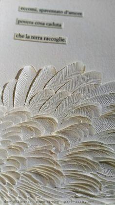 «Quasimodo Remixed» Series - n3 detail | domitilla biondi paper carving…