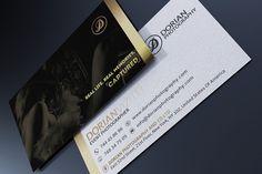 Elegant Business Card by Marvel on Creative Market