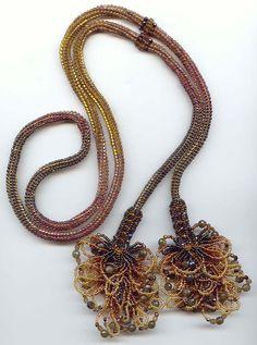 Sicke Kit Halskette Perlen Muster 4 Farben von RubyWingsBeadPattern