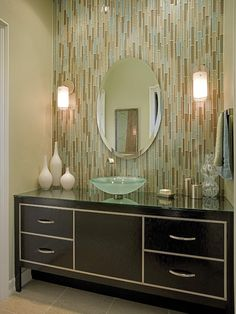 Bathroom Powder Room Design, Pictures, Remodel, Decor and Ideas - page 18