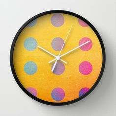 Ohh Baby I Like It Raw Wall Clock by Danny Ivan - $30.00