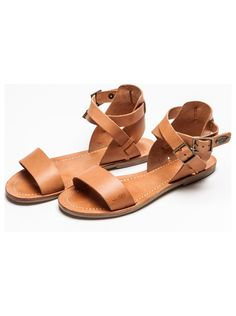 I want a new pair of tan flats for summer!