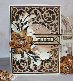 Blog studio75.pl: Karteczka imieninowa