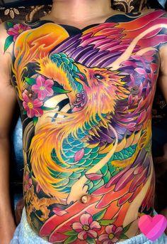Tattoo Henna, Band Tattoo, Great Tattoos, Tattoos For Guys, Japanese Artwork, Phoenix Bird, Japanese Sleeve Tattoos, Irezumi, Life Tattoos