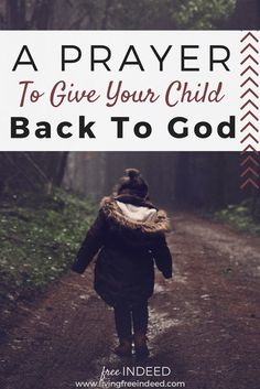Let us pray with the faith of Job, readying ourselves for anything that comes with parenthood. Here\'s my own prayer of surrender for my daughter.