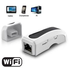 Mini Wireless Portable Router for Tablets, Phones, PC