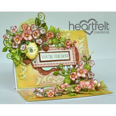 Gallery | Blooming Berries Easel Card - Heartfelt Creations