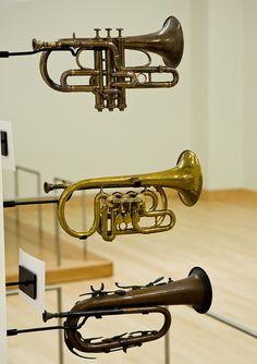 Horns - Musical Instrument Museum (by Jefford_E, via Flickr)