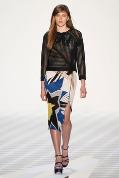 Schumacher RTW Spring 2014 [Photo by Getty Images for Mercedes-Benz Fashion Week Berlin]