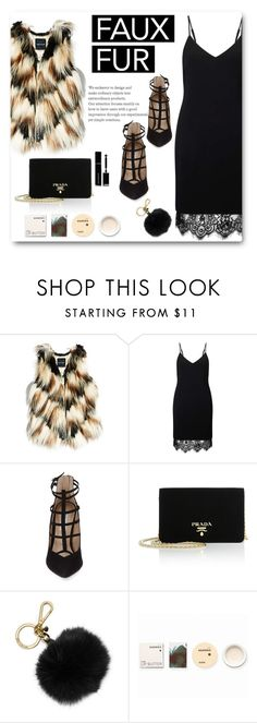 """""""From summer to fall..."""" by juliehalloran ❤ liked on Polyvore featuring GUESS by Marciano, Miss Selfridge, Steve Madden, Prada, MICHAEL Michael Kors, Korres and Givenchy"""