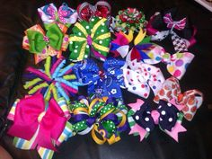 Too many bows, especially on babies' heads.  They are babies, not packages.