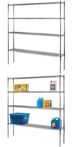 Shelves 134649: Sandusky Lee Industrial Welded Wire Shelving 72In Width X 74In Height X 12In Dep -> BUY IT NOW ONLY: $139.41 on eBay!