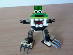 LEGO MIXELS GLOMP and FOOTI MIX  instructions video  with Lego 41518 and Lego 41521 Mixels Serie 3