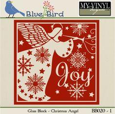 DIGITAL DOWNLOAD ... Christmas Vector in AI, EPS, GSD, & SVG formats @ My Vinyl Designer #myvinyldesigner #bluebird