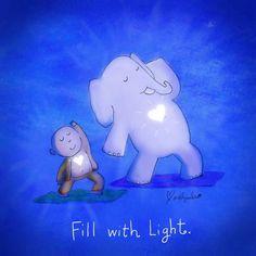 preencher com luz