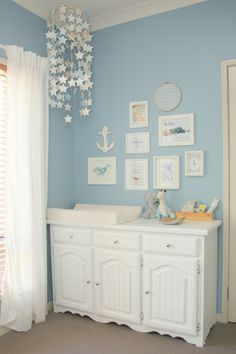 Baby Blue Baby Boy Nursery