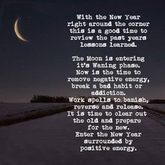 Moon Spells, Removing Negative Energy, Bad Habits, Lessons Learned, Other People, Positive Vibes, Spelling, Addiction, The Past