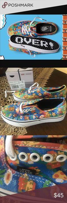 Vans 🌈 Nintendo super MARIO colorful perfect for summer retail 65 plus tax Vans Shoes