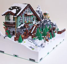 Mod G1 H1 - Winter Chalet 06 | Flickr - Photo Sharing!